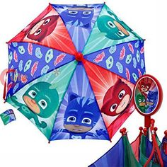 Paraguas Plegable multicolor de PJ Masks - Héroes en Pijama Paraguas Plegable multicolor de PJ Masks - Héroes en Pijama, para que tus niños no se mojen con la lluvia!!!