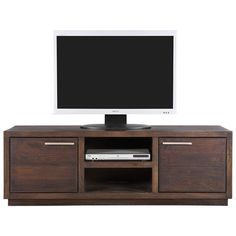 I like the clean lines, colour and solid feel of this TV unit