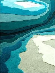 interior design, waves and water inspired - Google Search