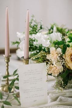 Elegant wedding decor: http://www.stylemepretty.com/2017/05/11/inspired-by-soft-neutrals-this-shoot-is-finding-beauty-in-simplicity/ Photography: Retrospect Images - http://weddings.retrospectimages.com/home/