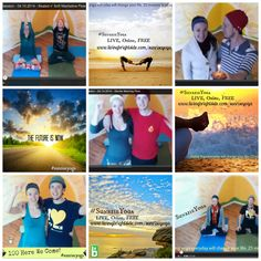 Yup... this is us :) This is great but photos for new site will have to be a lot higher quality and the hashtag is no longer #SunriseYoga, it's #SunriseYogaProject :) (Lara)