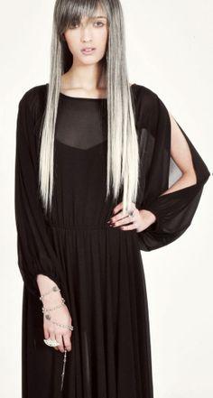The Odylyne Black Emperor Dress
