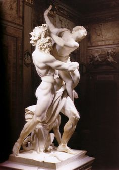 Gian Lorenzo Bernini, Pluto and Persephone or The Rape of Proserpina, 1621-1622.