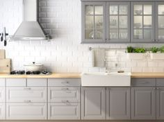 Ikea Kitchen Cabinets Gray this is more or less what we will have: the grey cabinets, but
