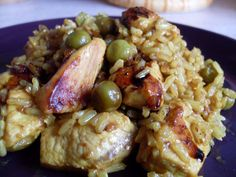 Chicken curry - fast food for dinner ... Kurczak curry na szybko