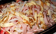 Receita de salada falsa para a fase ataque da dieta dukan. Prato de entrada!