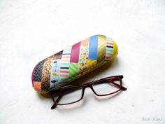 Ann-Kay Home: DIY: Washi Tape Glasses Case Makeover