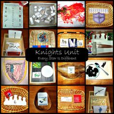 Montessori-inspired Knights Unit from Every Star Is Different