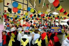 Mickey Mouse Clubhouse Themed Party Party Themes, Party Ideas, Mickey Mouse Clubhouse, Ideas Party