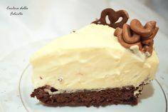 Cucina della Felicità: Ciasto czekoladowe z białym musem