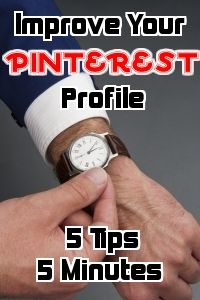 How to improve you pinterest profile