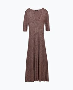 Image 8 of FLARED DRESS from Zara Zara Women, New Trends, Flare Dress, Knitwear, High Neck Dress, Dresses For Work, Clothes For Women, My Style, Image
