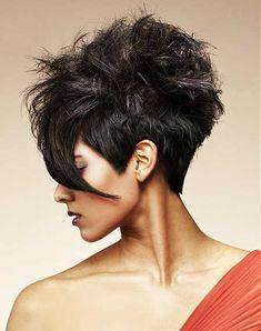 25 Short Hair Trends 2014 | http://www.short-haircut.com/25-short-hair-trends-2014.html