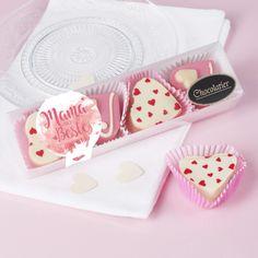 Pralinen zum Muttertag leckere #rosa #herzförmige Schokolade für Ihre #Mutter Sunglasses Case, Pink, Mother's Day, Chocolate Candies, Deutsch, Recipies