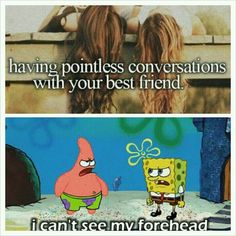 So true. I've actually had a conversation somewhat like that. XD