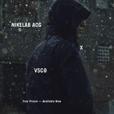 Introducing @NikeLab #ACG x #VSCO  free limited edition preset.  Built on the premise of innovation NikeLab equips athletes to face the risks of the unfamiliar and unexplored. To mark the release of their latest collection download the exclusive preset available now for iOS and Android. by vsco