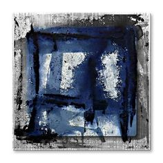 'I am Blue' by Roger Silva Painting Print Plaque