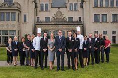 The fabulous team at @LoughErneResort