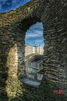 Muralla romana. #Lugo #Galicia