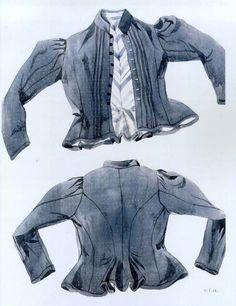 Ženská blúza, Lazisko, začiatok 20. storočia. Blúza (vizitka) je ušitá zo vzorovanej modrotlače a podšitá pásikavým kanafasom. Strihaná je do pása, so šosíkmi na zadnom diele, siaha niečo niže pása. Blúza sa obliekala v chladných dňoch mimo zimného obdobia. Mohla byť ušitá aj z bavlneného atlasu alebo z tenkej vlnenej látky. V zime sa nosili vizitky zo zafarbeného domáceho plátna, kangáru alebo tenkého súkna, podšité hrubším barchetom a vatované. Plnili tak funkciu kabátika (špenzra)…