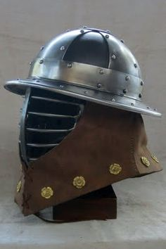 kettle helm for sca  hmb if with some adaptation armorysmith stay ready...