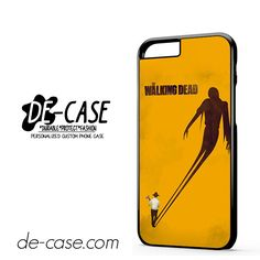 The Walking Dead In Orange DEAL-11089 Apple Phonecase Cover For Iphone 6 / 6S