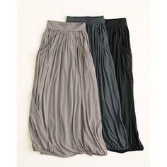 Easy Maxi Knit Skirt - Garnet Hill