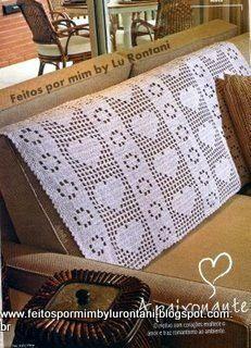 FEITOS POR MIM BY LU RONTANI: Mantas para sofá em crochê com gráfico                                                                                                                                                      Mais