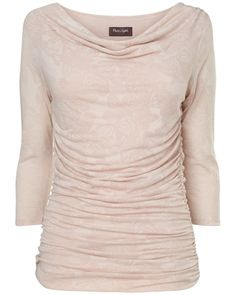 DYT TYPE 2 UK: Women's Pale PinkBurnout Butterfly Tallie Top from www.phase-eight.co.uk