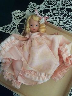 SOLD Vintage Nancy Ann Doll Composition in by MiMisFavoriteThings