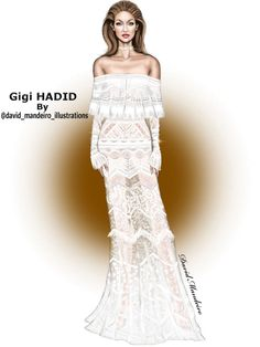Gigi Hadid in #CavalliCouture at the #AmericanMusicAwards 2016. #digitaldrawing by David Mandeiro Illustrations ================================================ #GigiHadid #CavalliGirl #AMAs #AMA2016 #Wacom #digitalart #AdobePhotoshopElementsEditor #Wacomcreativeseurope