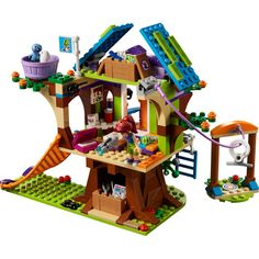 LEGO Friends Mia's Tree House 41335 Creative Building Toy Set for Kids, Best Learning and Roleplay Gift for Girls and Boys Pieces) Legos, Lego Creationary, Buy Lego, Lego Craft, Lego Tree House, Tree Houses, Lego Friends Sets, Friends Series, Lego Hogwarts