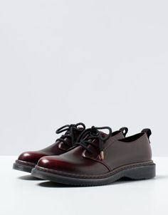 BSK lace-up shoes (IDR599.90) | Bershka Indonesia