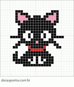 Cats diy crafts perler beads 19 Ideas for 2019 Fuse Bead Patterns, Perler Patterns, Beading Patterns, Cross Stitch Charts, Cross Stitch Designs, Cross Stitch Patterns, Perler Bead Art, Perler Beads, Cross Stitching