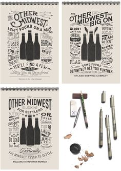 Upland Brewing Co. by BMD ..., via Behance