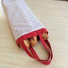 Un sac à pain pour éviter les emballages en papier - Mon Tricocotier #bricolagefacileafaire