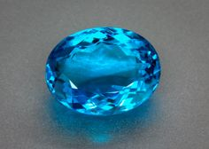 Phenomenal 3 Carat Paraiba Tourmaline from Brazil – Eye Clean – Deep Intense Paraiba Blue, old material from Brazil. 3.16 carat