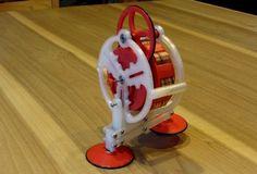 워킹 자이로(Walking Gyro)는 존 제임슨(John W. Jameson)이라는 사람이 지난 1981년 발명된 장난감이다. 단순한 장난감이지만 회전하는 플라이휠과 원심력의 힘을 빌려 걷는 동작을 할 수 있다. 워킹 자이로는 당초 장난감 회사인 마텔이 디자인 특허권...