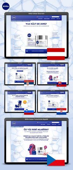 Idee und Kreation einer internationalen Digital-Kampagne inkl. Landingpage, Bannerkampagne, Newsletter und Facebook Strategien für 10 Länder. Banner, Facebook, Banner Stands, Banners