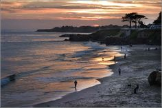Westcliff Dr., Santa Cruz.  I live 5 mins from here, and do my best not to forget how lucky I am.