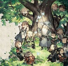 Lord of the rings / chibi