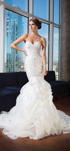 Justin Alexander Signature Spring 2014 Bridal Collection | bellethemagazine.com