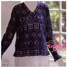 Crochet: STRIPLOIN Dalton jacket