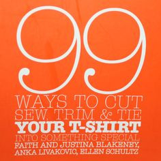 99 Ways to alter your tee by ctagfamcouture
