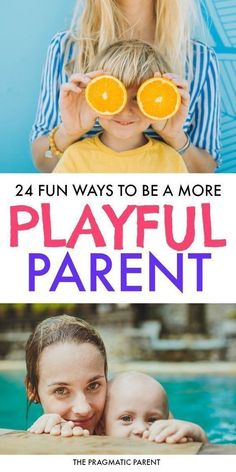 Learn how to be a more playful parent, develop a better relationship with your kids and feel connected. #connectionparenting #raisingkids #playfulparenting