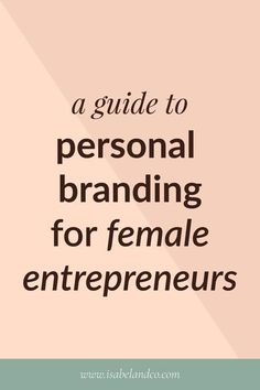Personal branding tends to be taboo in the business space because various entrepreneurs want to separate their personal life from professional. But it doesn't have to be! This allows bloggers to grow and network more effectively. Many female entrepreneurs online have created million-dollar businesses alongside their personal brand. Click the pin to find out how you can too. #branding #design #entrepreneurship #brandstrategy #marketing