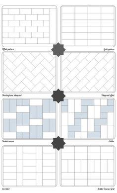Subway Pattern subway tile designs inspiration (a beautiful mess) | tile design