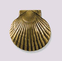 Scallop Door Knocker (Small) - for us!