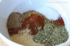 Hearty Chili, and Chili Spice Mix