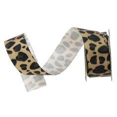 Leopard Satin Ribbon | Shop Hobby Lobby